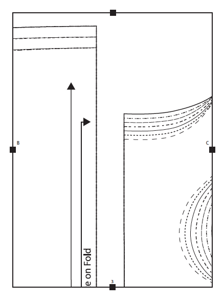 Digital sewing patterns