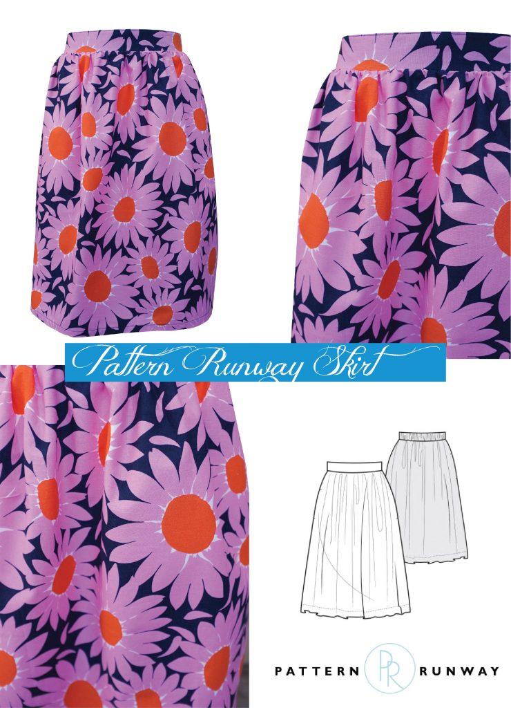 pattern runway skirt 2