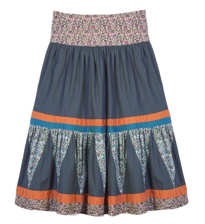 Gorman patchwork skirt