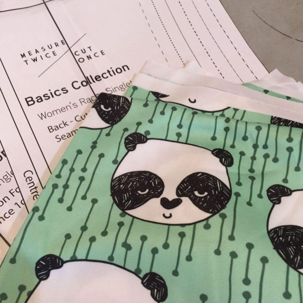 panda fabric