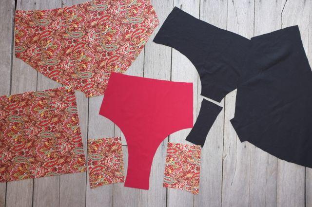 named Beverly bikini sewalong - 05