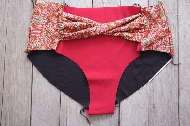 named Beverly bikini sewalong - 16