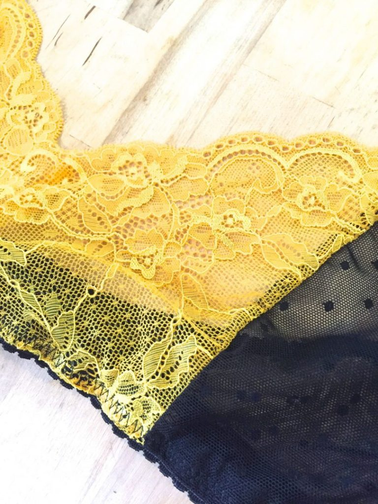 bra detail