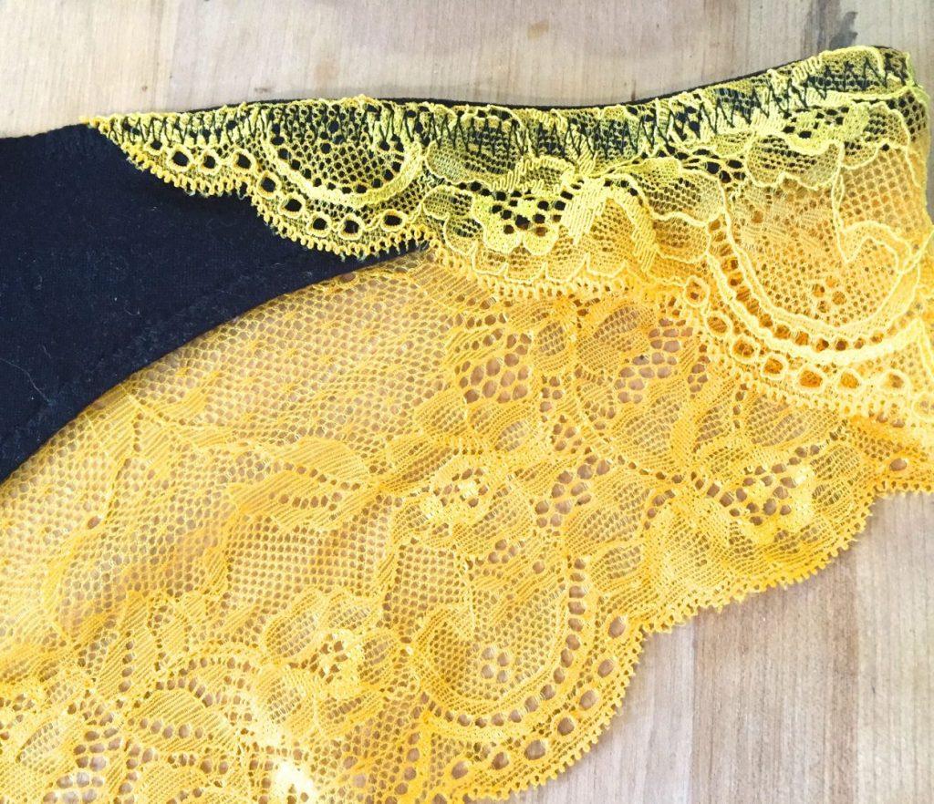 lace sides