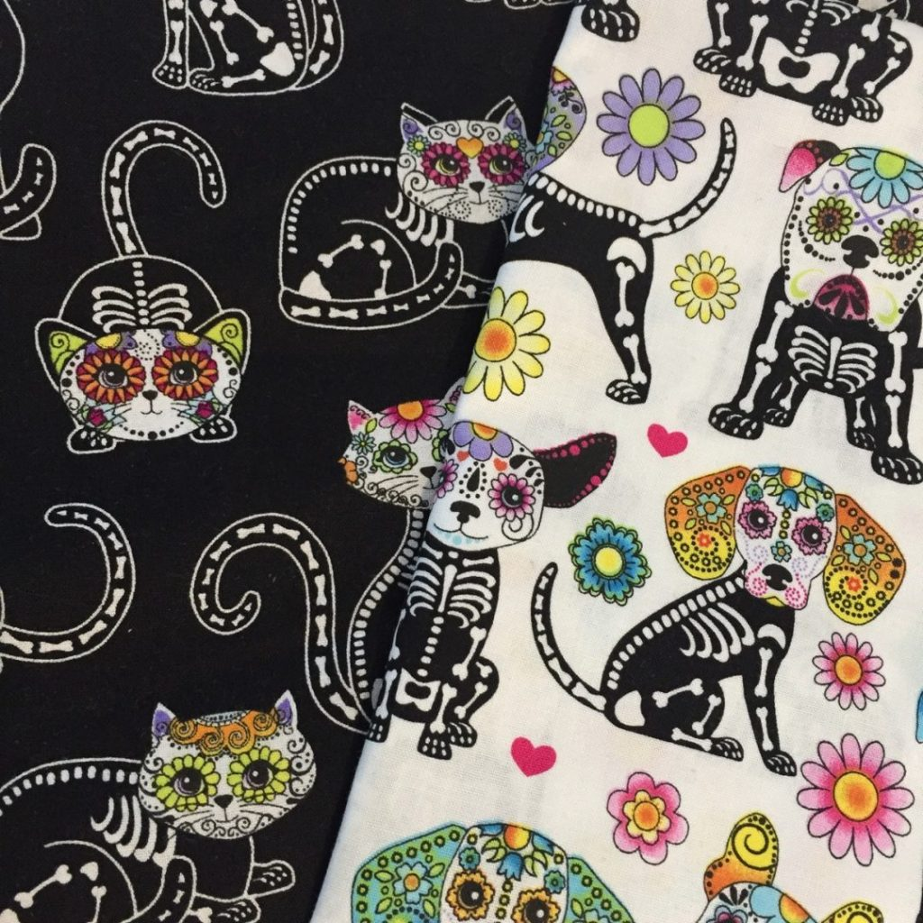 day of the dead cycling bags - 1
